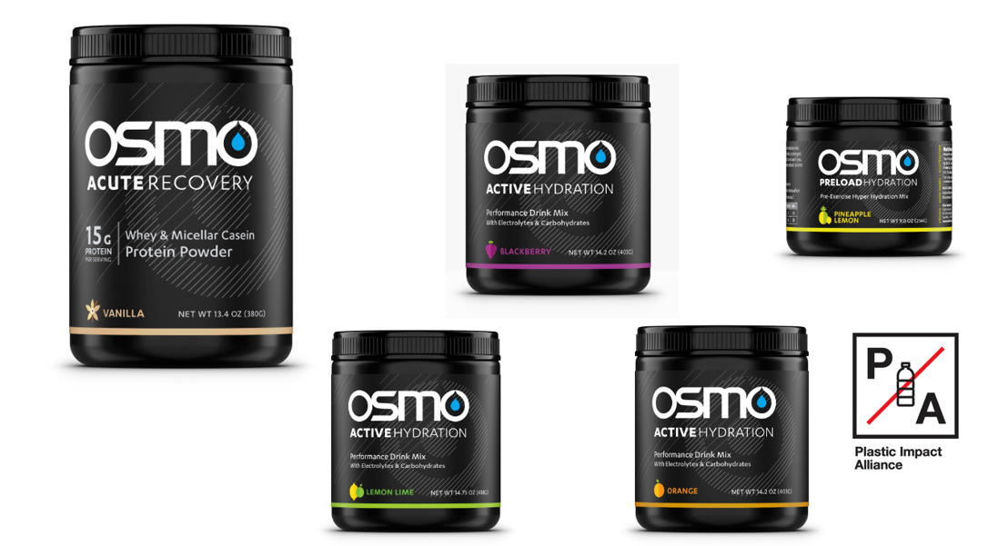 Osmo Nutrition Joins Plastic Impact Alliance