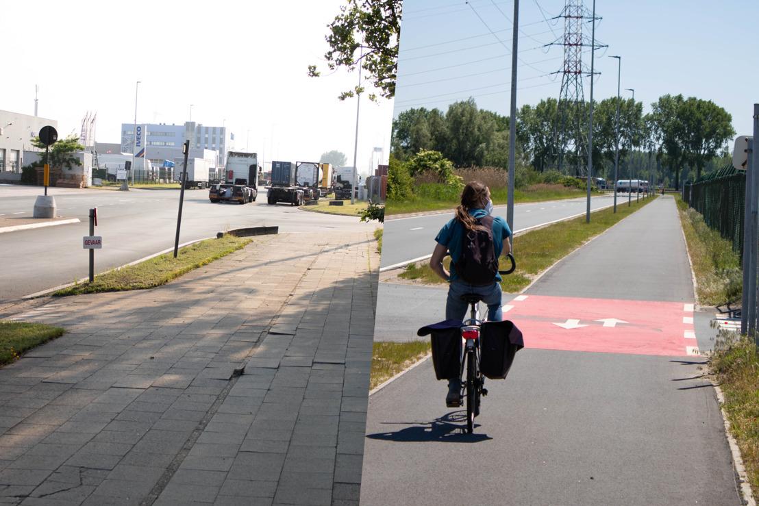 Port of Antwerp investeert meer dan 40 miljoen euro in fietspaden
