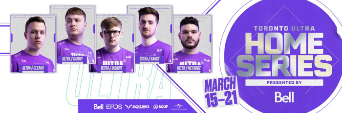 MEDIA ADVISORY: TORONTO ULTRA PLAYER INTERVIEWS