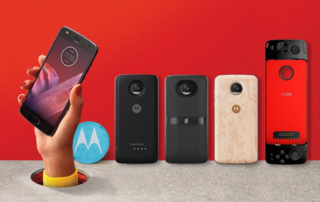 Hallo nieuwe Moto Z² Play en Moto Mods!