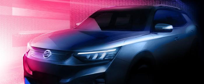Preview: Erstes vollelektrisches SsangYong Modell vor dem Start