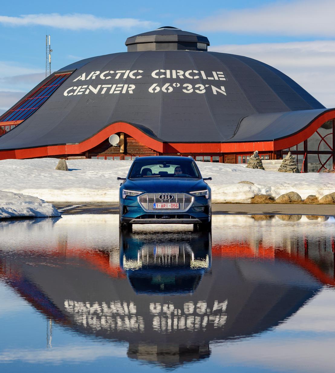 Elektrisch reizen: met de Audi e-tron naar de noordpoolcirkel