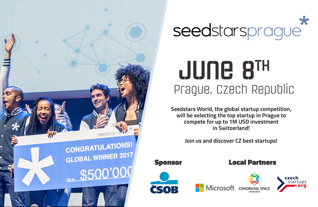 Meet the most promising startups competing at Seedstars Prague