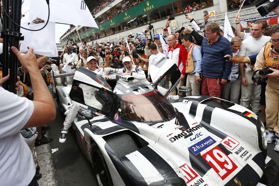 Le Mans (F) 2015: Porsche 919 Hybrid, Porsche Team: Nick Tandy, Earl Bamber, Nico Hülkenberg