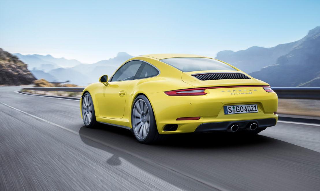 2015: Porsche 911 Carrera 4S (991 II). PTM con sistema electrohidráulico que acciona el embrague multidisco.