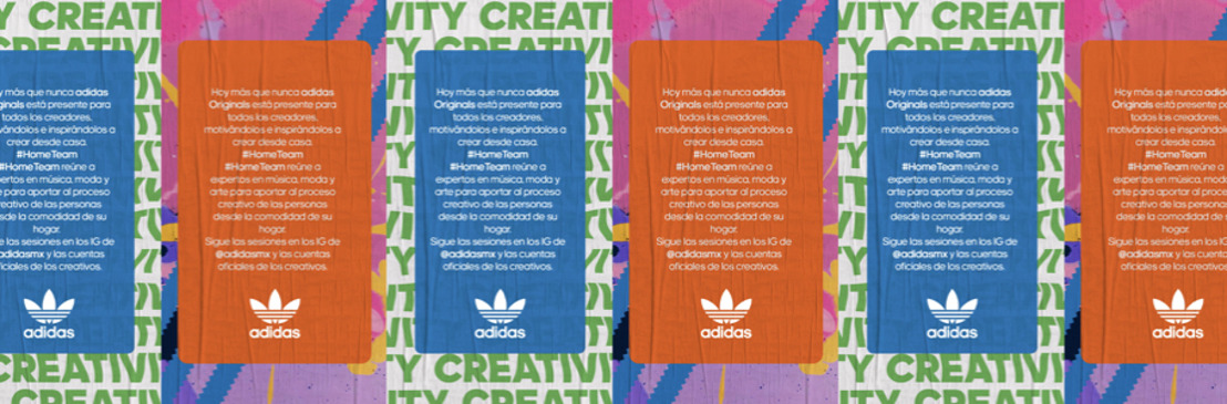 adidas presenta su plataforma creativa #HomeTeam