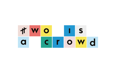 Two is a Crowd press room Logo