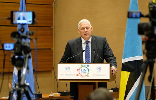 Prime Minister Allen Chastanet's Official Visit to Geneva