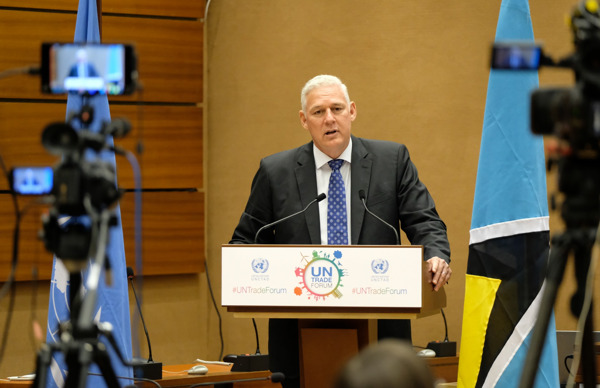 Preview: Prime Minister Allen Chastanet's Official Visit to Geneva