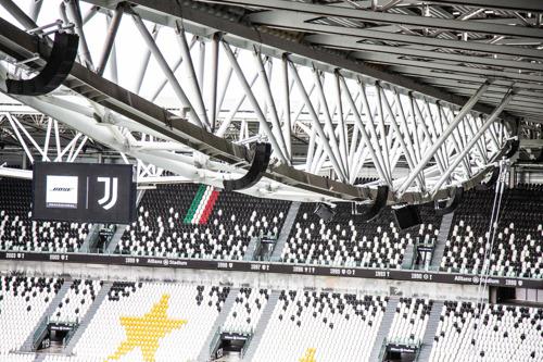 Bose Profesional amplifica la experiencia de los aficionados del Juventus FC en el Allianz Stadium