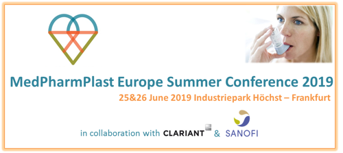 MedPharmPlast Europe Summer Conference 2019 - Only one month to go!