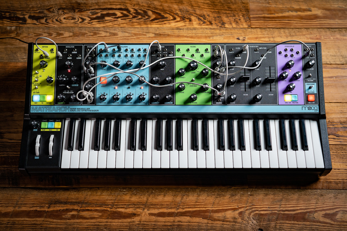 INTRODUCING MOOG MATRIARCH