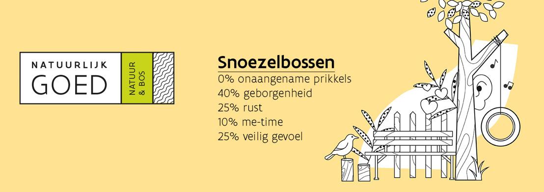 Eerste snoezelbos officieel geopend op 26 april bij Covida in Hasselt