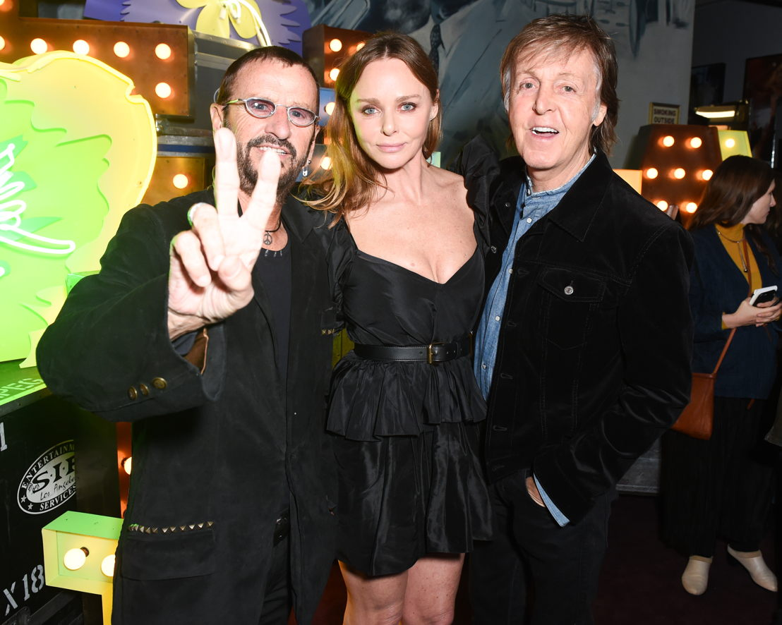 Ringo Starr, Stella McCartney y Paul McCartney