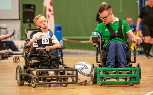 Persuitnodiging - Eerste 'Powerchair Football Event' vindt plaats op 30 oktober