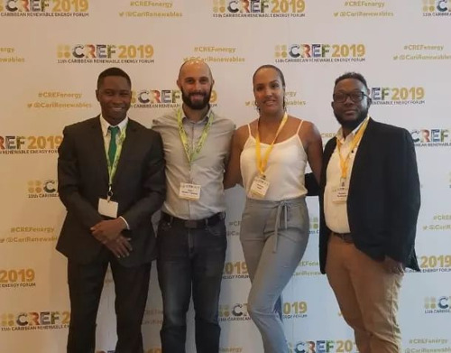 OECS Companies Participate in the Caribbean Renewable Energy Forum in Miami