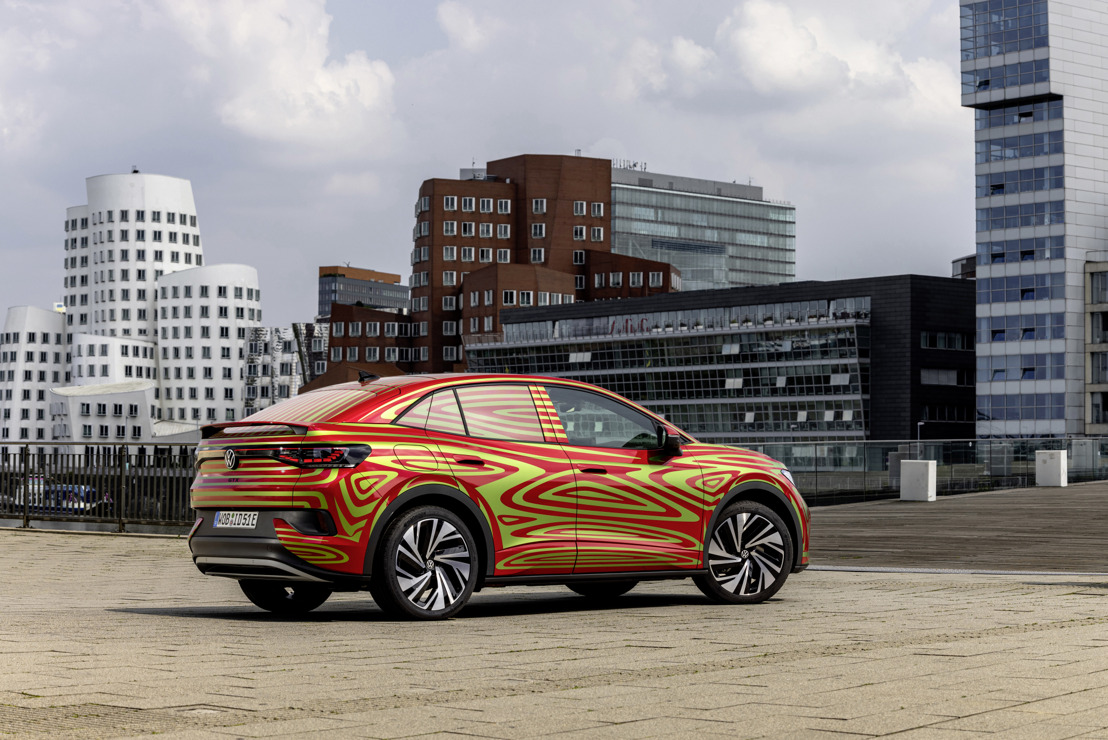 Volkswagen to introduce the SUV coupé ID.5 GTX at the IAA