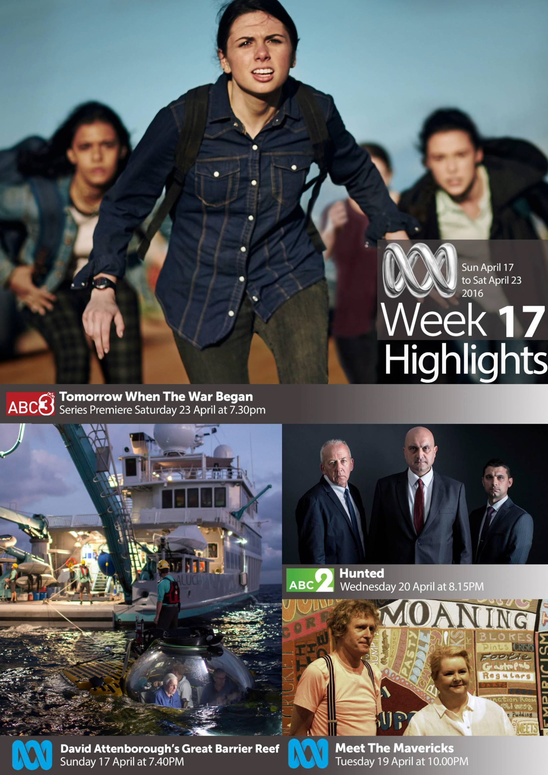 ABC TV Highlights - Week 17