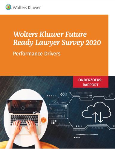 2020 Wolters Kluwer Future Ready Lawyer Survey onderzoekt performance drivers in de veranderende juridische sector