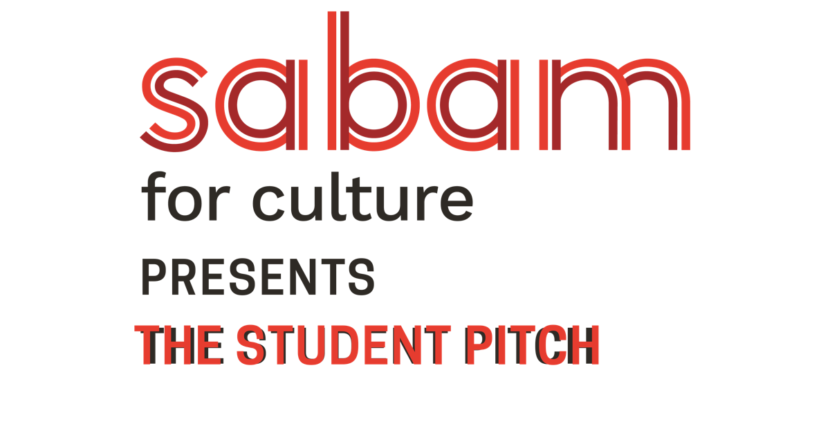Sabam for culture presents The Student Pitch
