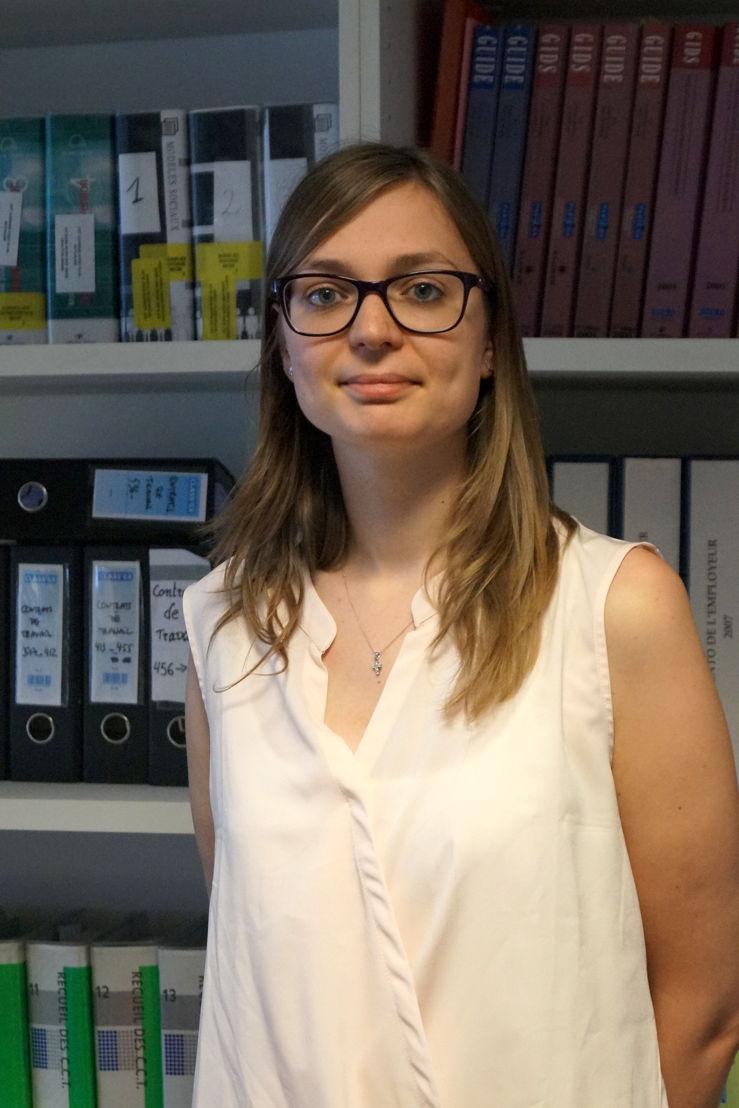 Delphine Deblander - Legal Consultant - Partena Professional