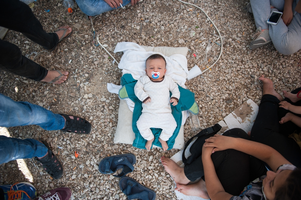 System identifier<br/>: MSF149696<br/>Title<br/>: Kara Tepe Camp in Lesbos, Greece.<br/>Photographer / cameraman<br/>: Georgios Makkas<br/>Countries:<br/>Greece. Thousands of migrants and asylum seekers are currently stranded in precarious conditions across several Greek islands, despite repeated calls since December 2014 by Médecins Sans Frontières (MSF) to Greek authorities and the EU to address the lack of reception capacity. An MSF emergency response team has arrived in Lesbos - one of the two islands in Greece that actually has organised reception facilities, but where the system is on the edge of collapse.