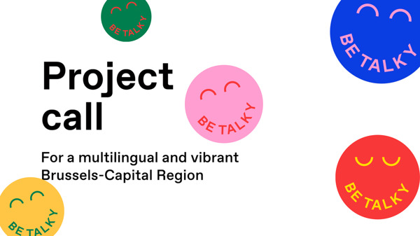Preview: Minister Sven Gatz launches 'BeTalky' project call to promote multilingualism in Brussels