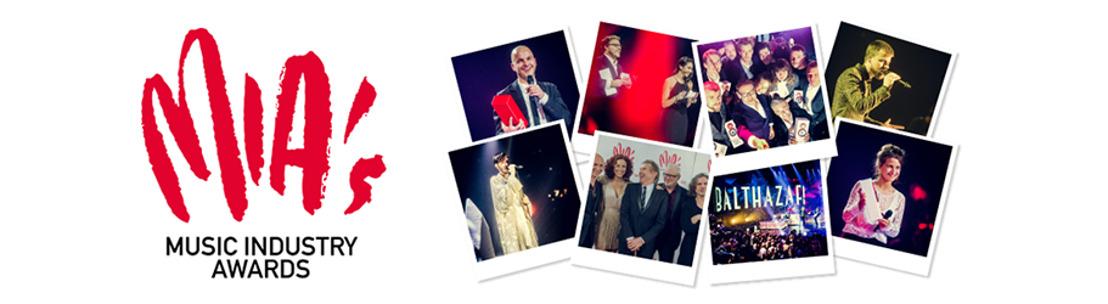 MIA's 2016: Dit zijn de genomineerden voor 'Hit van het jaar'