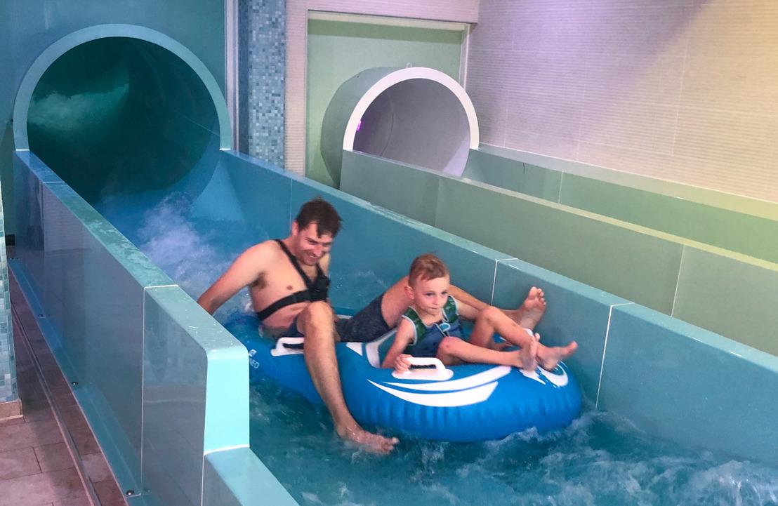 Roompot test modernste zwembad van Zeeland in Nieuwvliet-Bad