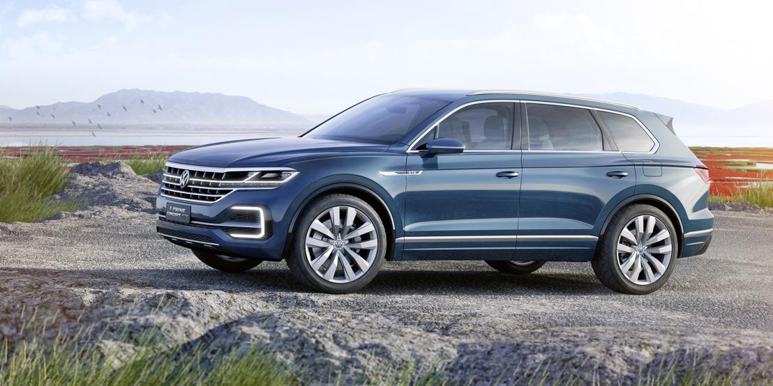 Volkswagen zet China onder stroom: wereldpremière van de T-Prime Concept GTE in Peking