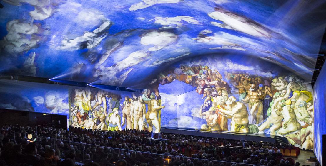 Pinceladas de luz dan vida a la obra de Miguel Ángel