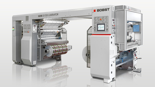 BOBST launches the NOVA SX 550 LAMINATOR - a new solventless modular laminating machine redefining flexibility, productivity and ease of use