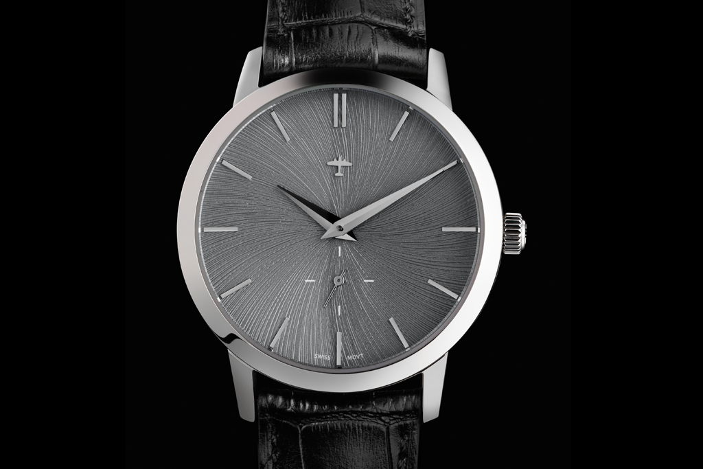 Progeny Stainless - Schist concept dial - 3