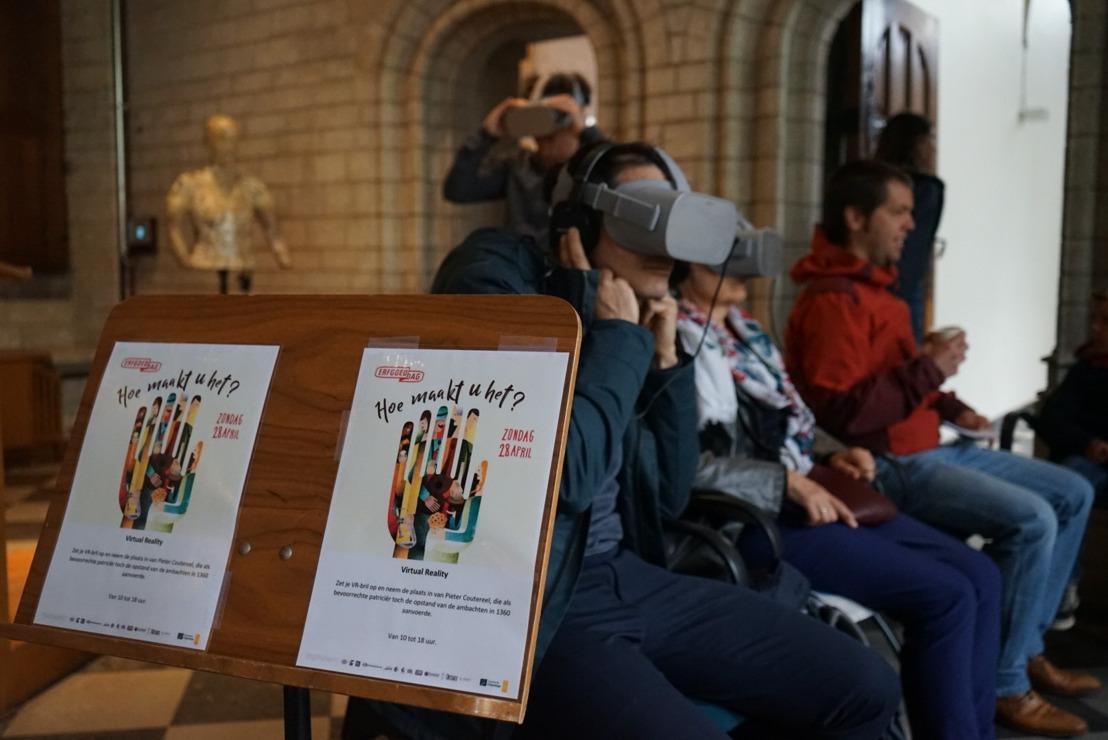 19e Erfgoeddag in Leuven lokte bijna 10.000 bezoekers