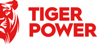 Tiger Power press room Logo