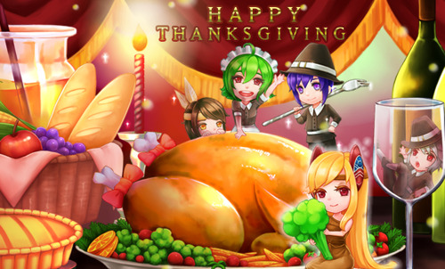 Grand Fantasia: Lovely Dungeons for Thanksgiving!