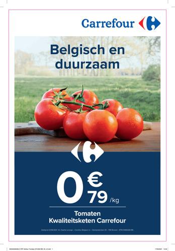 Carrefour maakt het beste toegankelijk voor iedereen met haar campagne 'Gezonde prijzen', kleine prijzen met grootse principes