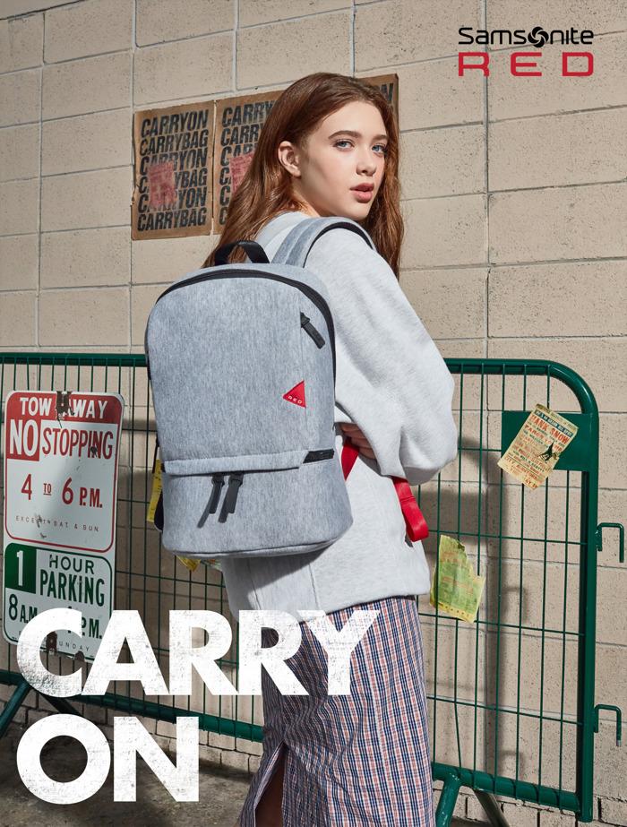 Samsonite RED onthult de FW 2018 'Carry On' campagne en nieuwe collecties