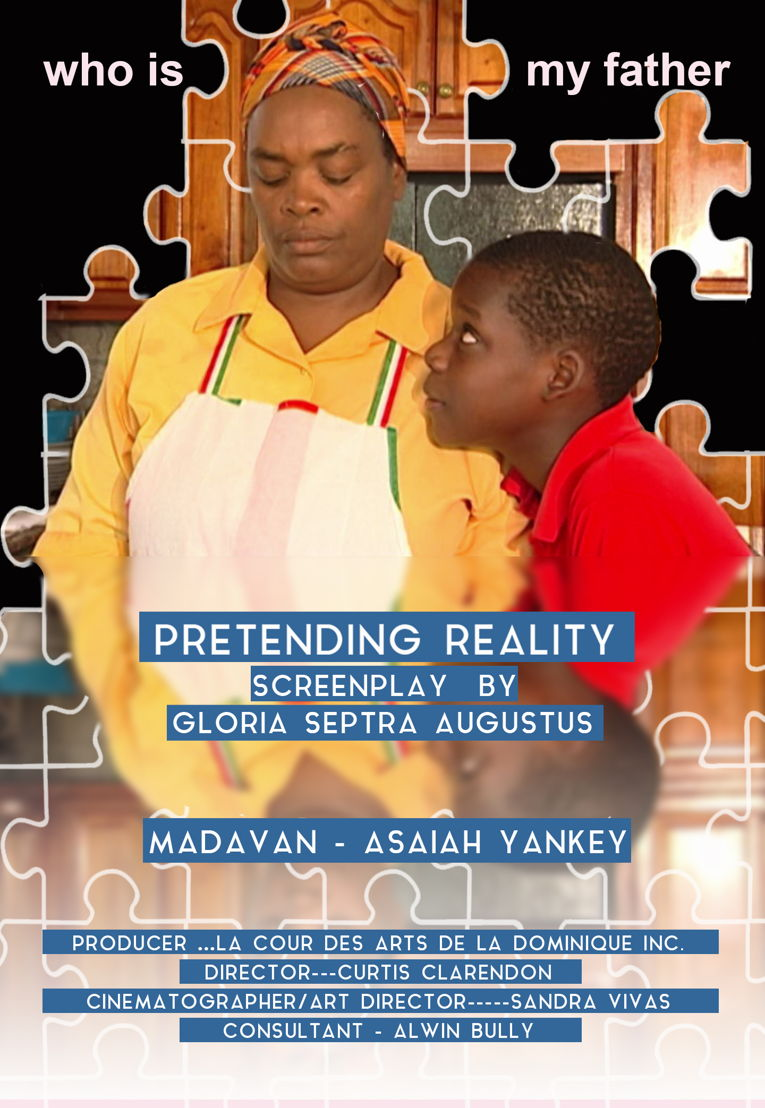 """Poster of the movie """"Pretending Reality"""""""