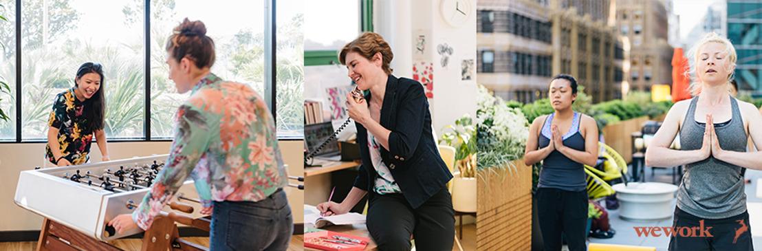"""WeWork anuncia """"She Leads"""", una iniciativa para empoderar a las mujeres en los espacios de trabajo"""