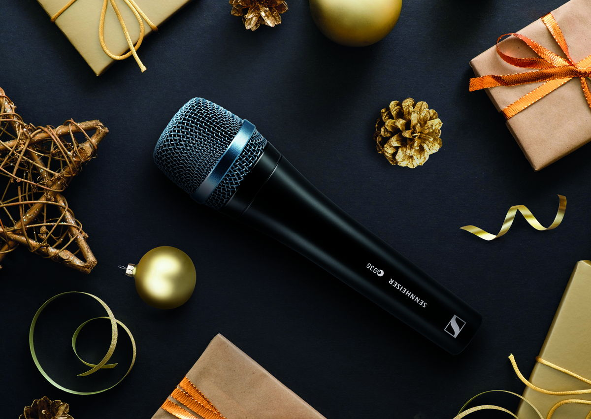 With its famous sound, the Sennheiser e 935 gives the voice more space