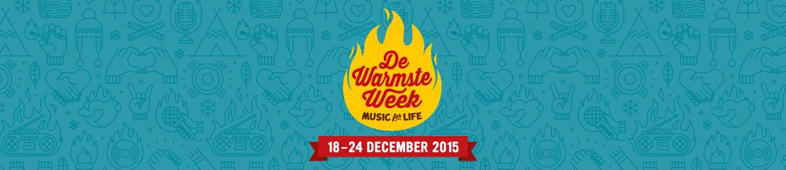 Siska Schoeters, Linde Merckpoel & Eva De Roo presenteren De Warmste Week van Music for Life