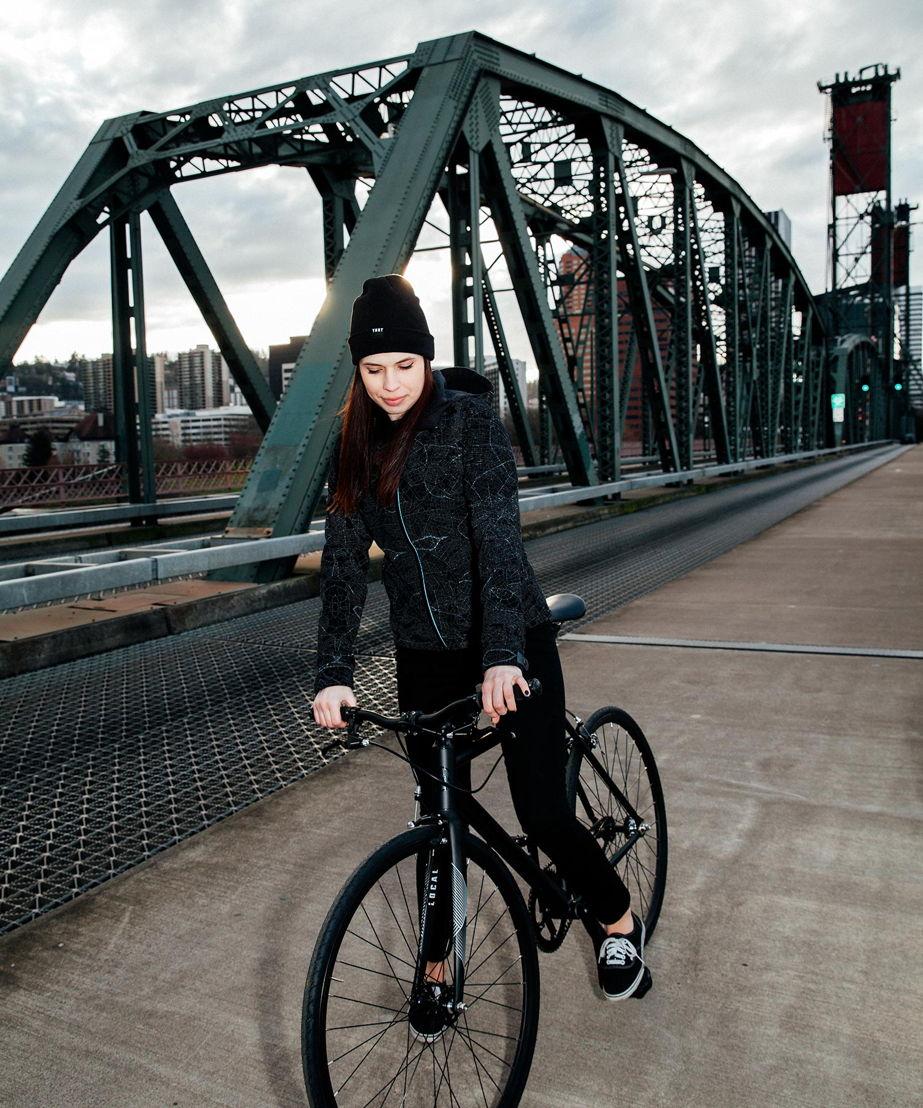 Women's Odyssey Jacket without Flash on Bridge