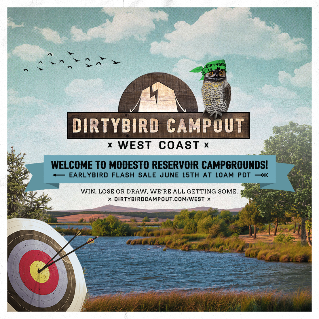 Dirtybird Campout Announces New Location for 2018 West Coast Event