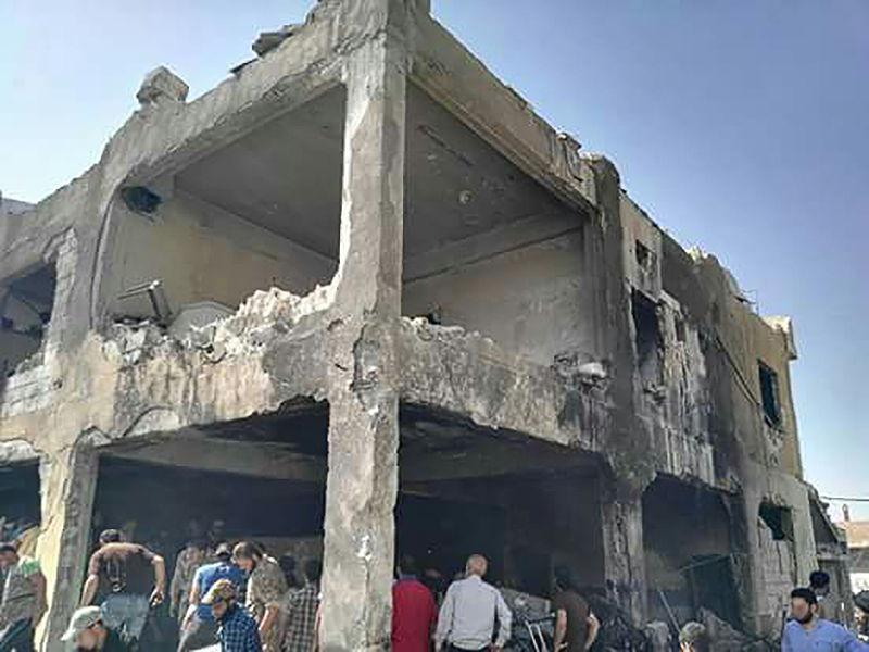 Op 6 augustus werd een hospitaal dat ondersteund werd door AZG in Millis , Idlib, Syrië gebombardeerd. Vier gezondheidswerkers en 9 patiënten kwamen om, ook kinderen.