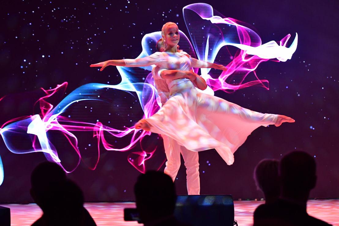 Součástí programu bylo i taneční vystoupení