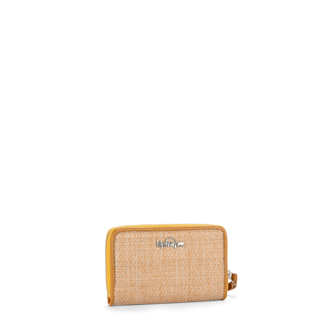 Olvie Wristlet Woven Yellow
