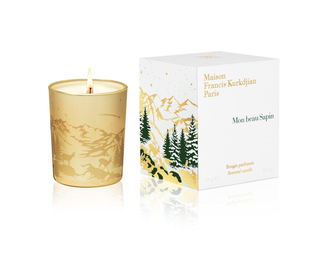 GR13 - Maison Francis Kurkdjian - Mon beau Sapin candle - 55 euro