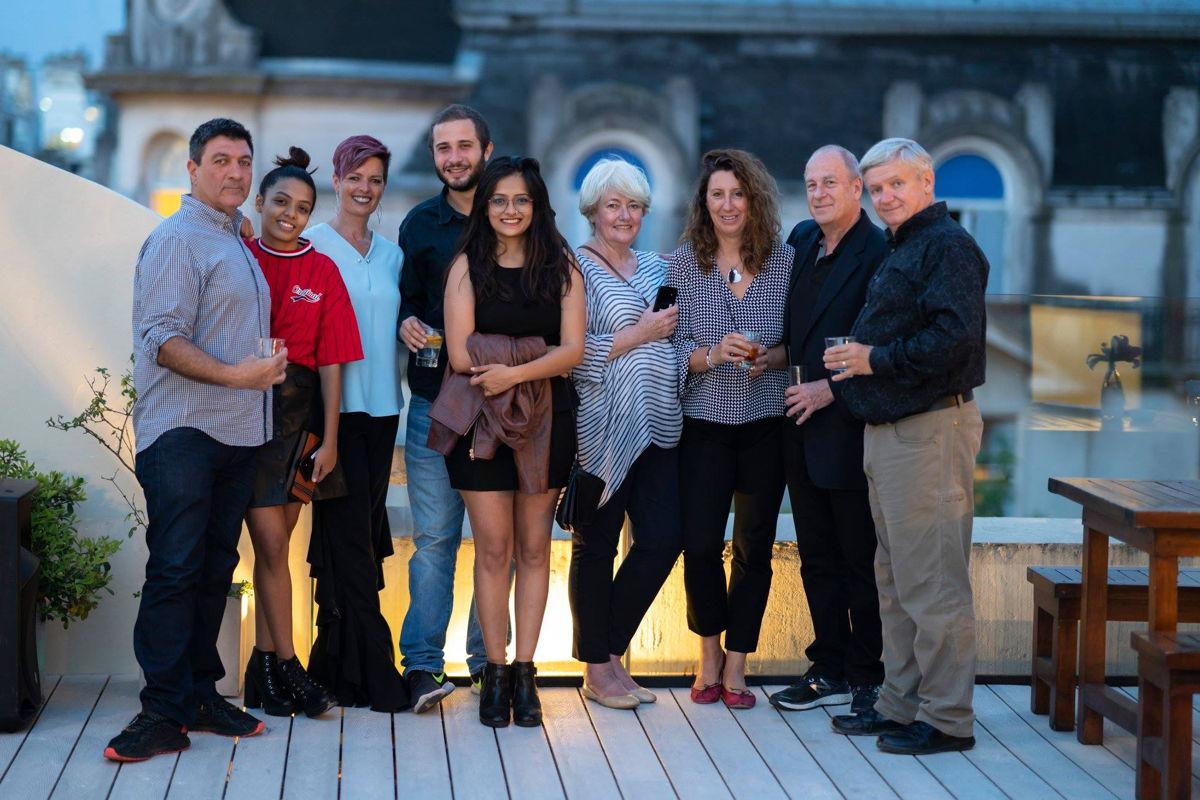 Mentors for the IOC YR Programme (left to right): Farhad Shadavaran, Sonali Prasad,Tracey Holmes, Ivan Boyanov, Pallavi Prasad, Sue Graham, Lucia Montanarella, Steve Wilson, and Nick Didlick