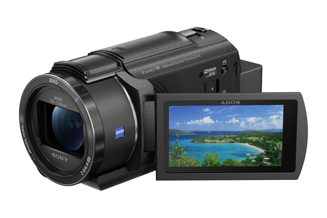 Sony launches new compact 4K Handycam camcorder with advanced image stabilization technology